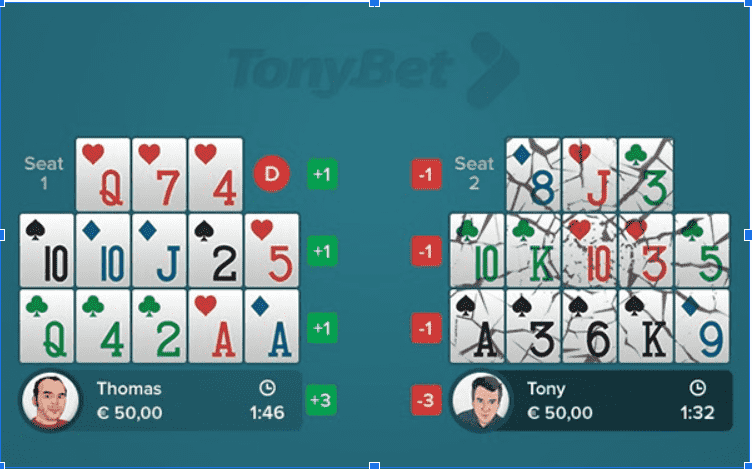 How to Play Open-Face Chinese Poker, Poker High