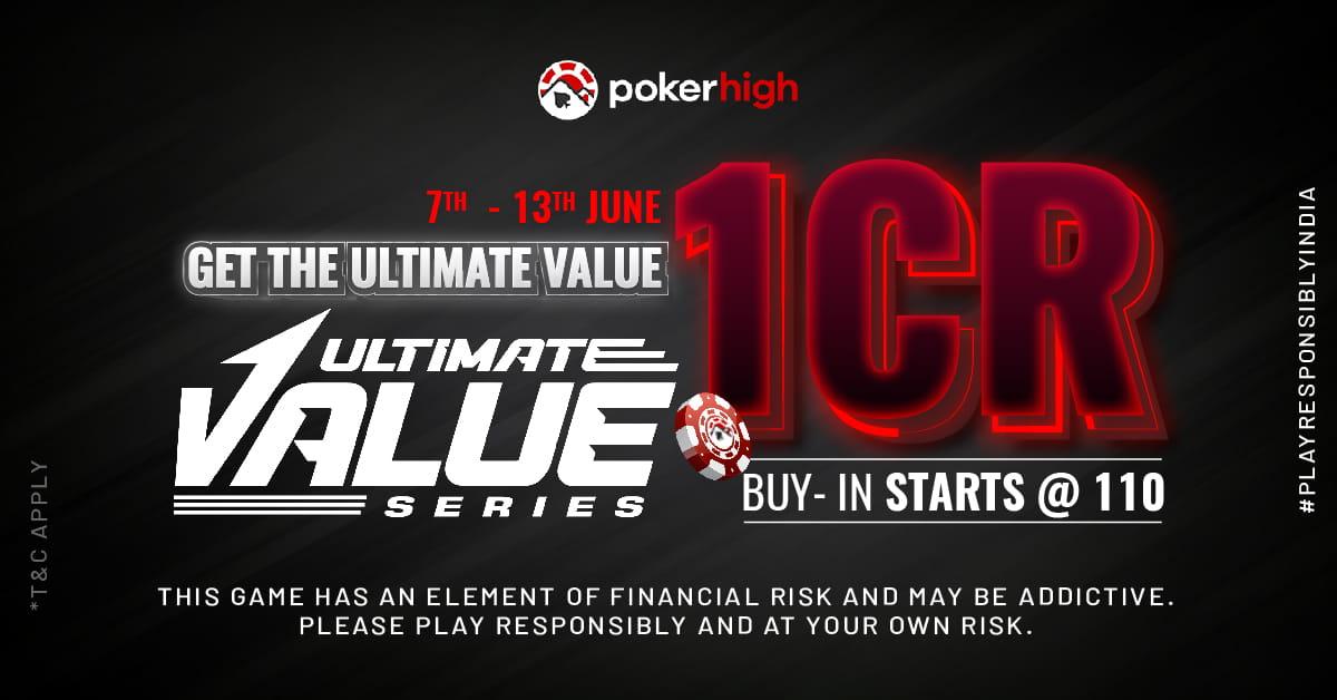 UVS Tournament Series Poker Tournament, PokerHigh
